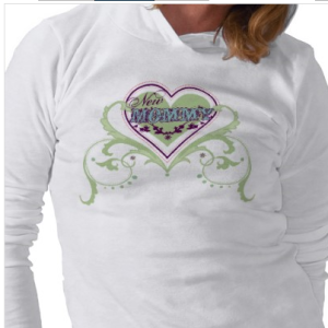 New Mommy T-shirt from Zazzle.com_1245309600967
