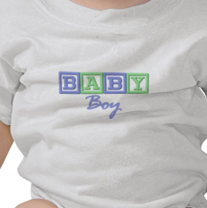 Baby Boy T-shirt from Zazzle.com_1248675722019