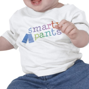 Smarty Pants Funny T-shirt from Zazzle.com_1248416347087