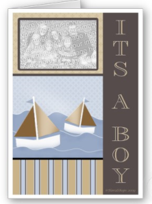 It's A Sailor Baby Boy Card from Zazzle.com_1250231346001