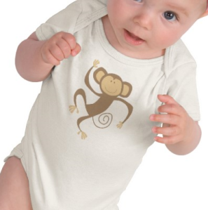 Monkeying Around Infants T-Shirt from Zazzle.com_1249975396773